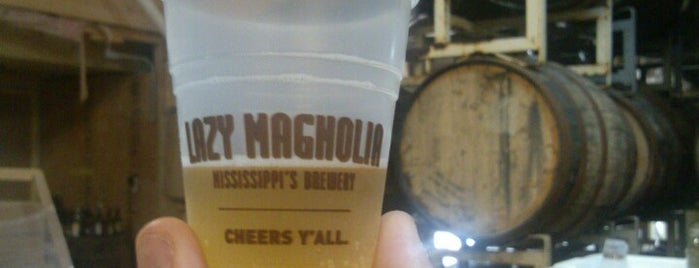 Lazy Magnolia Brewery is one of America's Best Breweries.