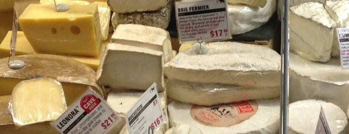 Murray's Cheese is one of New York.
