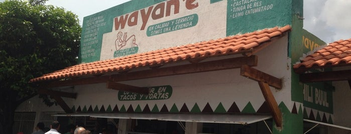 Wayan'e is one of Restaurantes en los que he comido!!!.