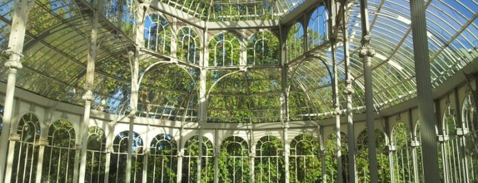 Palacio de Cristal del Retiro is one of Madrid.