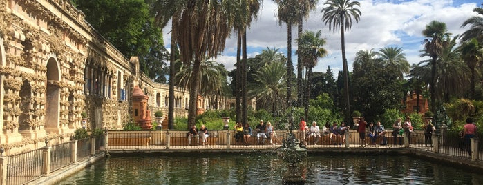Real Alcázar de Sevilla is one of Go Ahead, Be A Tourist.