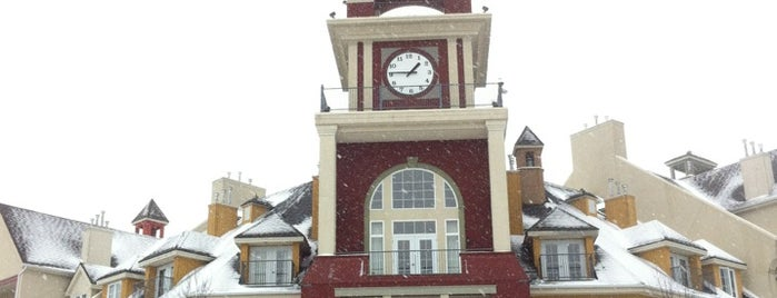 Station Mont Tremblant Resort is one of Skiing.