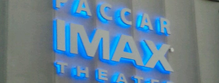 PACCAR IMAX Theater is one of Seattle.