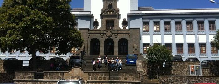 Universidad de La Laguna. Campus Central is one of Islas Canarias: Tenerife.