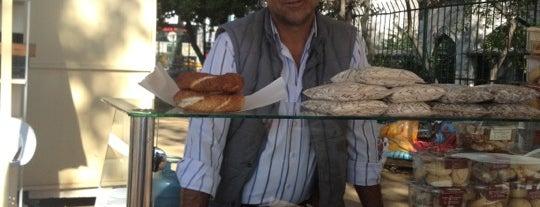 Seyyar Simit :) is one of Istanbul - food truck.