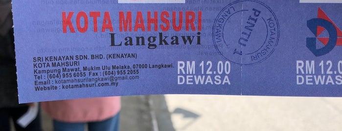 Kota Mahsuri is one of Langkawi Trip 2013.