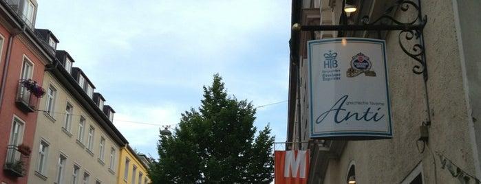 Taverne Anti is one of Munich.