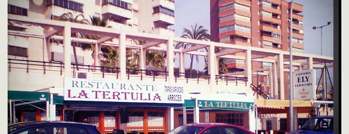 La Tertulia is one of reparto de prensa.
