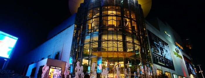 Siam Paragon is one of All-time favorites in Thailand.