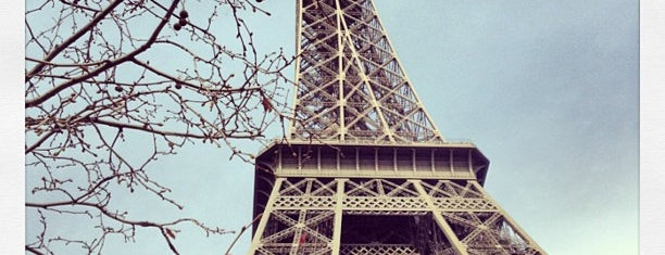 Tour Eiffel is one of Paris - best spots! - Peter's Fav's.