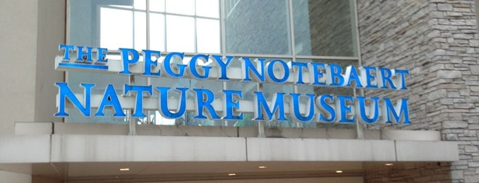 Peggy Notebaert Nature Museum is one of Favorite Kid Places in Chicago.