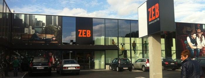 ZEB is one of stéphanie's place's.