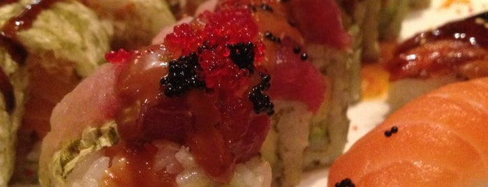Toyama Sushi is one of Midtown Lunch Spots.