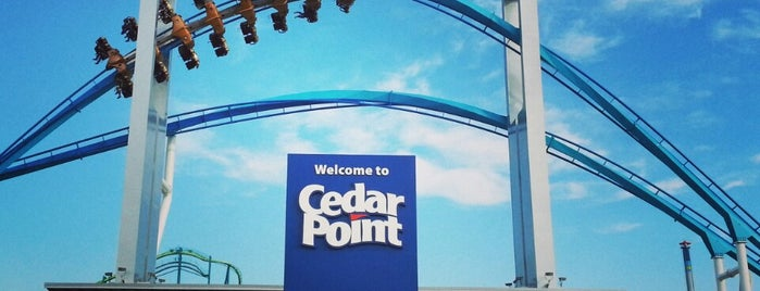 Cedar Point is one of Dan's Places.