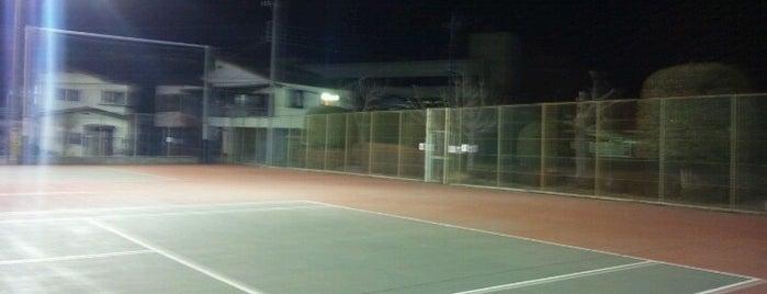 Tennis Court relates on me