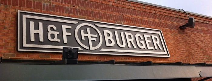 H&F Burger is one of Atlanta At Its Best.
