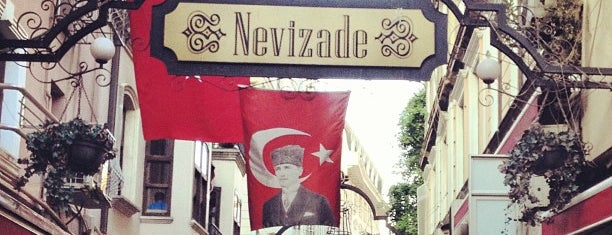 Nevizade is one of Istambul food.