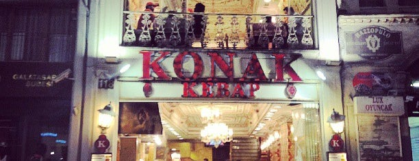 Konak Kebap is one of Istambul food.