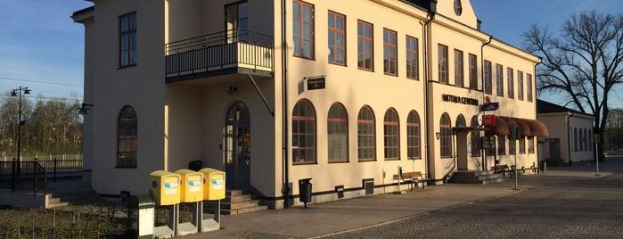 Motala Station is one of Tågstationer - Sverige.