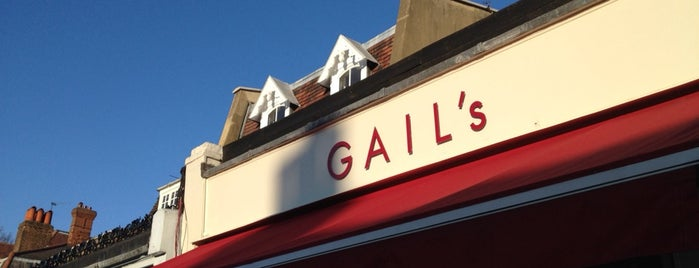 Gail's Artisan Bakery is one of London // Coffee Spots.