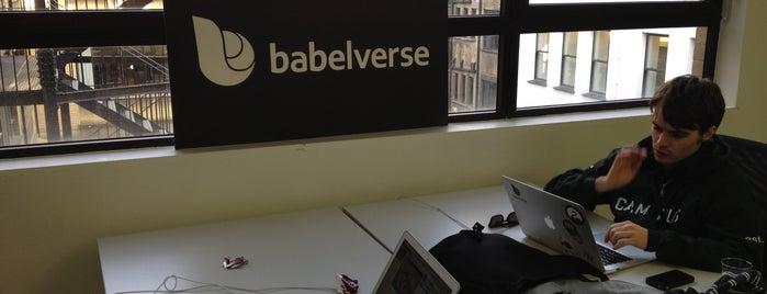 Babelverse, Inc @ Google Campus is one of Tech Trail: London.