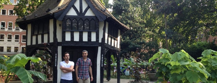 Soho Square is one of London // Outdoors.