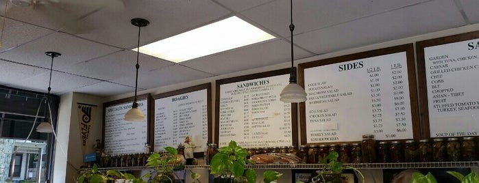 Stan's Deli is one of wanna visit.