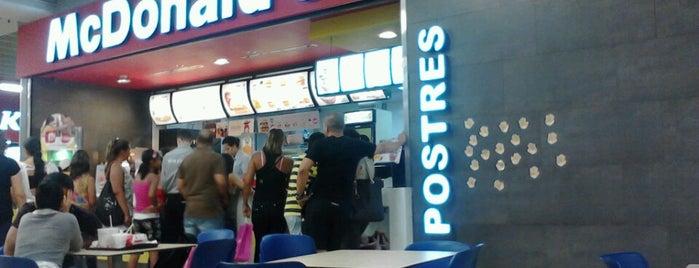 McDonald's is one of Opciones.