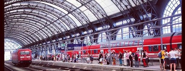 Dresden Hauptbahnhof is one of Ausgewählte Bahnhöfe.
