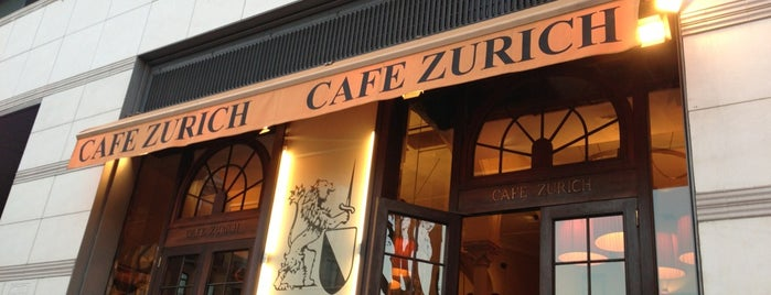 Cafè Zurich is one of Terrazas Barcelona.