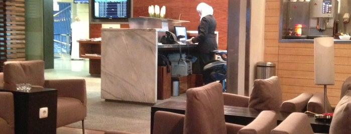 EGYPTAIR / Star Alliance Gold Lounge (Kochab) is one of Salas VIP-Lounges.