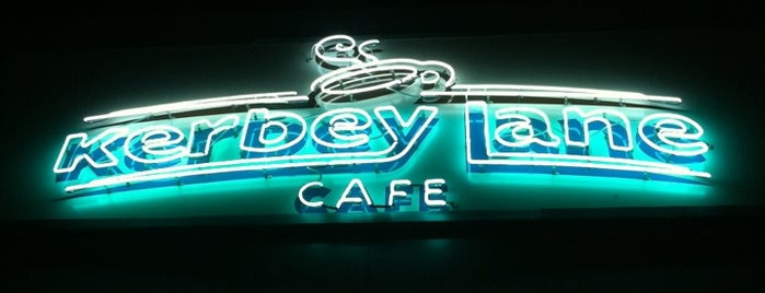 Kerbey Lane Café is one of Austin, Texas.