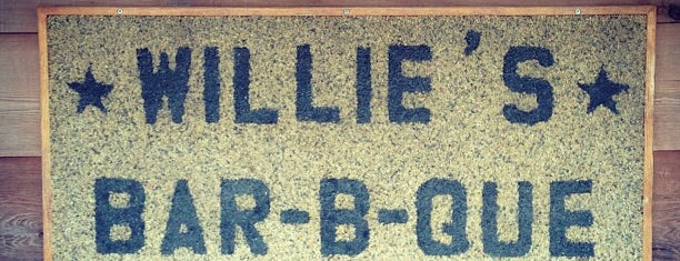 The Original Willie's Bar-B-Q is one of 2013 TMBBQ Top 50.