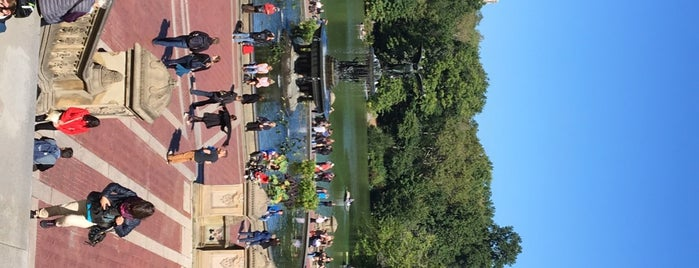 Bethesda Fountain is one of 2018.