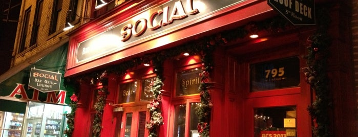 Social Bar, Grill & Lounge is one of NYC 2.