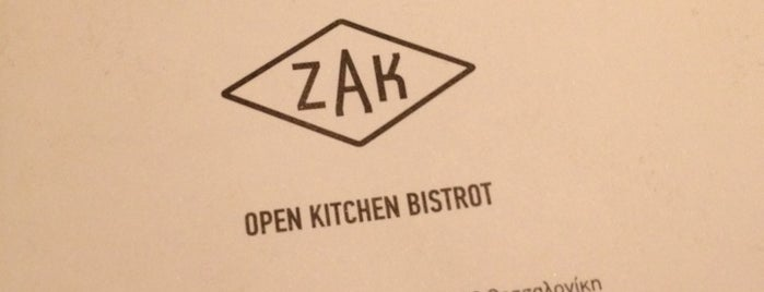 ZAK is one of Thess /Restaurants.
