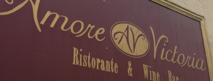 Amore Victoria is one of Restaurants.