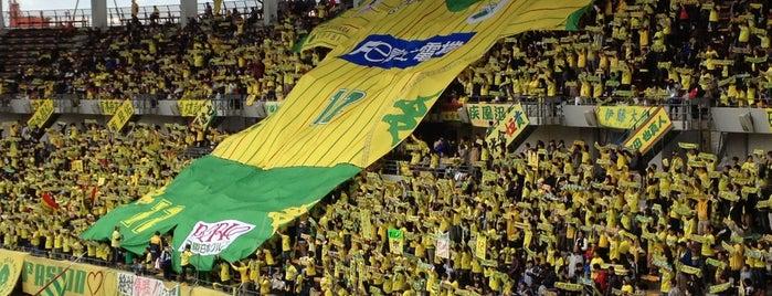 Fukuda Denshi Arena is one of football.