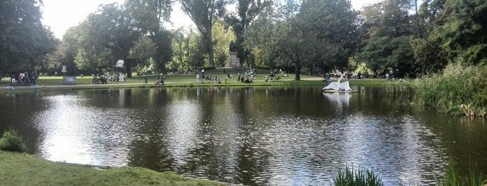 Vondelpark is one of Amsterdã, Holanda.