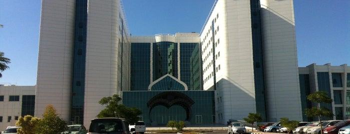 Near East University Hospital is one of YDÜ.