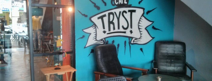 Tryst is one of Coffee@Venture ^.^v.