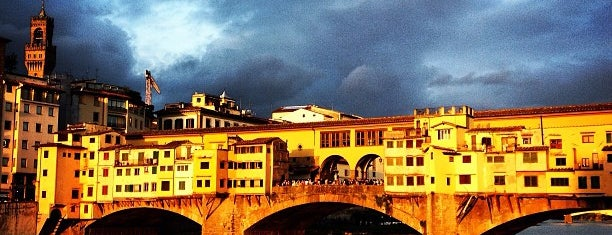 Ponte Vecchio is one of Florence.