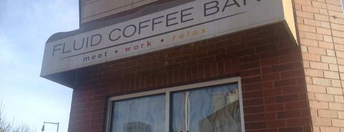 Fluid Coffee Bar is one of Coffee Places in the Denver Metro.