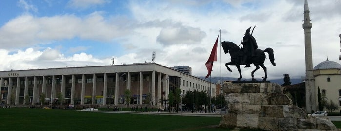 Tirana is one of Capitals of Europe.