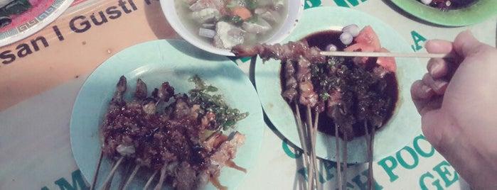 Warung sate kambing barokah is one of Porky Badge.