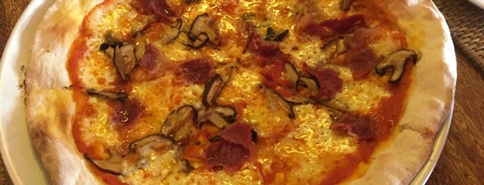 Grazie Café is one of pizza places of world 2.