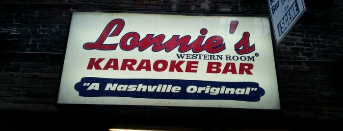 Lonnie's Western Room is one of Favorite Nashville Places.