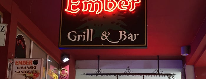 Ember Grill & Bar is one of Wroclaw-erasmus.