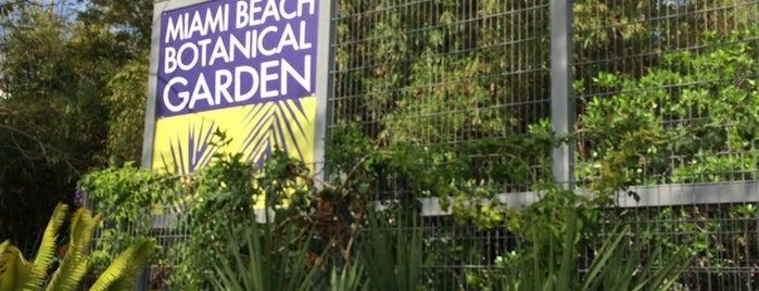 Miami Beach Botanical Garden is one of Miami - South Beach.