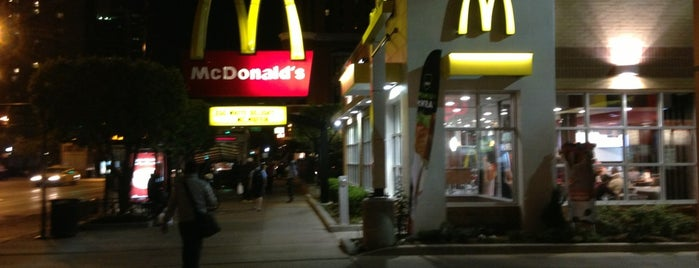 McDonald's is one of Places I frequent.